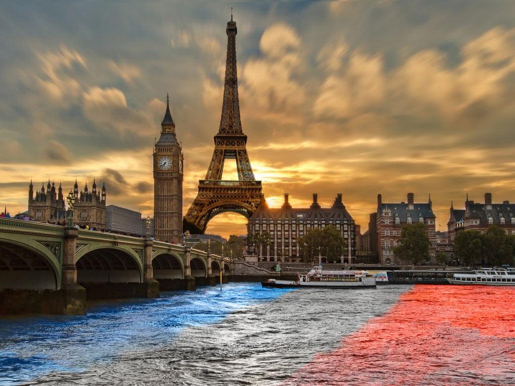 Le centre de Londres suite au passage du Tour de France