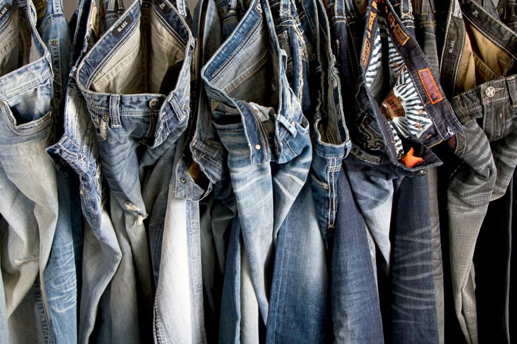 Jeans n'ayant pas servi aux expériences