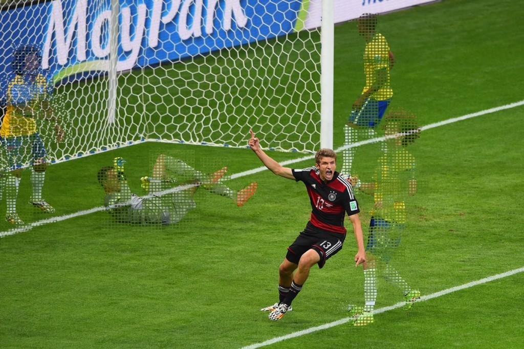 Allemagne 7-1 Brésil