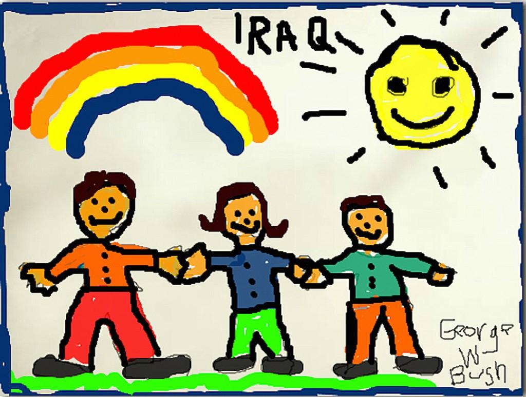 L'Irak d'aujourd'hui par G.W. Bush