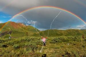 Lancement d'une grande campagne de prévention du danger des arcs-en-ciel