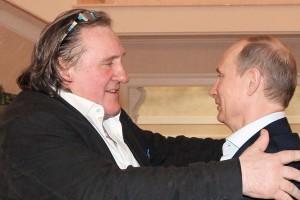 Depardieu : Oui, Poutine et moi sommes en couple