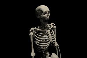 Un squelette parfaitement préservé retrouvé dans un corps humain