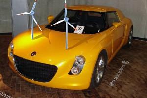 Science : Volkswagen a développé la première voiture roulant à l'énergie éolienne