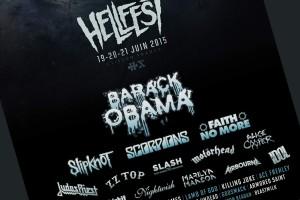 Barack Obama (vidéo) : après son tube Uptown Funk, il est annoncé pour un concert unique en France au HellFest