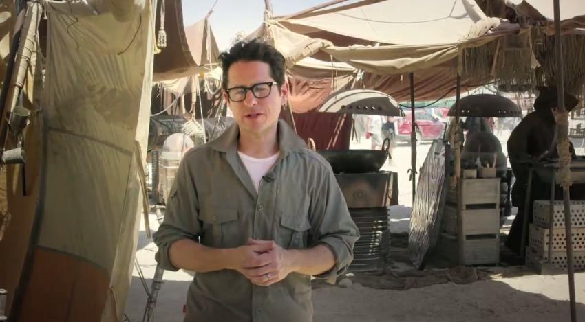 J.J. Abrams sur le tournage de Star Wars VII - Le réveil de la Force