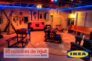 50 nuances de Grey : Ikea propose une salle de torture à petit prix