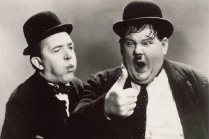 Les descendants de Laurel et Hardy accusent des politiques Français de plagiat !