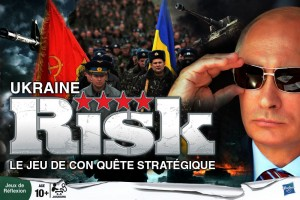 Une version Ukrainienne du jeu Risk a vu le jour