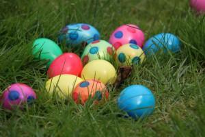 ALERTE INFO : les adultes doivent être accompagnés d'un enfant responsable pour trouver les œufs de Pâques