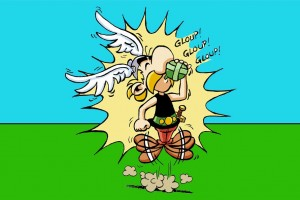 Info choc : Asterix sera interdit pour incitation au dopage