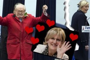 Reniant sa fille Marine, Jean-Marie Le Pen veut faire de Nadine Morano, sa fille adoptive