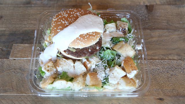 Salade au poulet de Big Mac