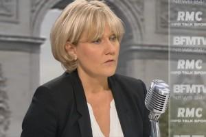 Insolite : Nadine Morano n'a rien dit depuis 72 heures…