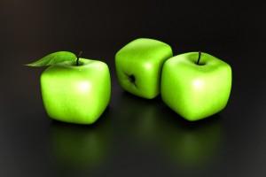 Science : des pommes carrées pour optimiser le transport et le stockage