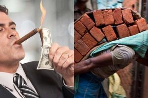 62 vrais travailleurs produisent autant de richesse que 3,7 milliards de fainéants