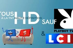 Le 5 avril, LCI et Playboy TV, nouvelles chaines gratuites de la TNT, ne seront pas en HD