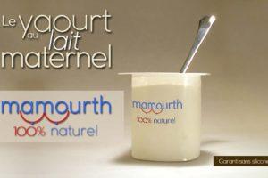 Mamouth, le premier yaourt au lait maternel