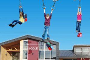 La Meurthe-et-Moselle teste le transport scolaire des enfants par drone