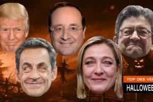 Halloween : les masques représentant les politiques explosent les ventes