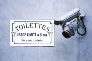 Sécurité : bientôt des caméras de surveillance dans les WC publics