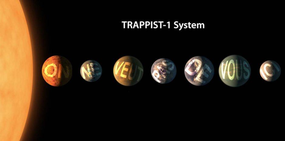 Passées sous différents filtres de couleur, les photos de TRAPPIST-1 en disent plus sur leurs habitants.   Crédits : NASA/JPL-Caltech - ZZN.fr