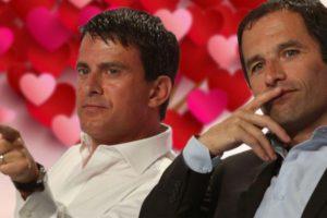 Saint Valentin : Hamon et Valls surpris en train de passer une soirée romantique